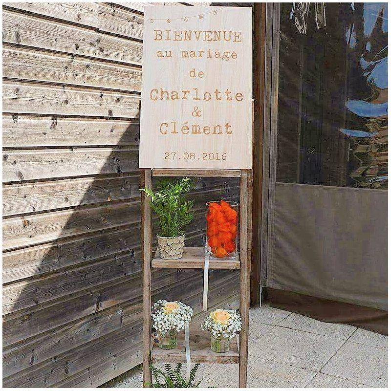 Pancarte de bienvenue - Lampions