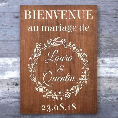 Pancarte de bienvenue - Champêtre-Chocolat