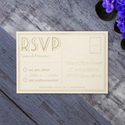 RSVP - Typographe